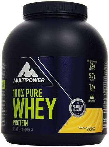 Multipower 100% Pure Whey Protein 2kg Dose