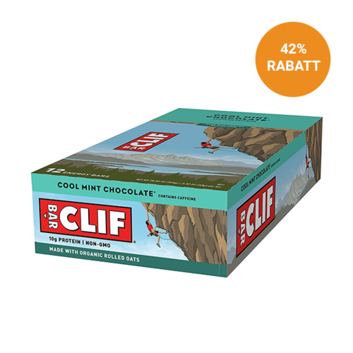Clif Bar Aktion 12er Box - Cool Mint Chocolate
