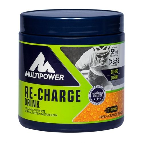 Multipower Re-Charge Drink 495g Dose orange - MHD 04-2018