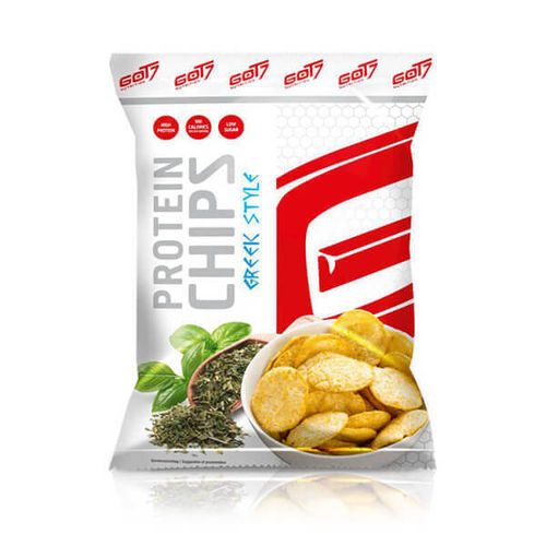Got7 Protein Chips 50g Beutel Greek Style MHD 05-2018