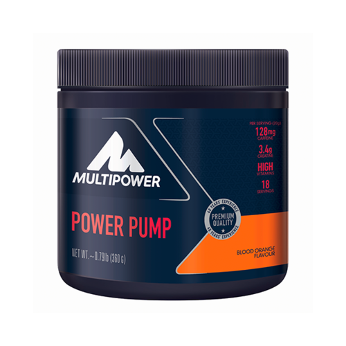 Multipower Power Pump Booster 360g Dose