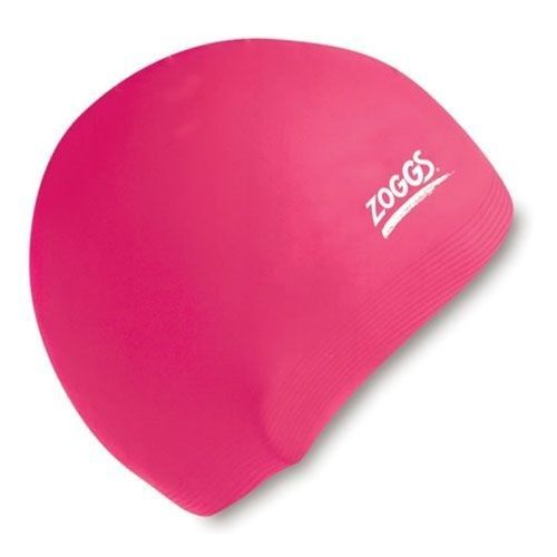 Zoggs Silicone Cap Standard Pink