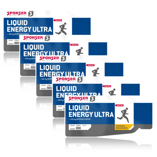 Sponser Liquid Energy Ultra Gel 5er Pack
