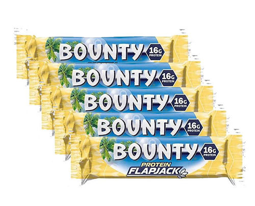 Bounty Protein Flapjack Riegel 5er Pack