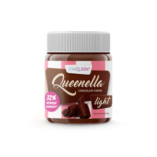 Gymqueen Queenella Light Chocolate Cream 250g
