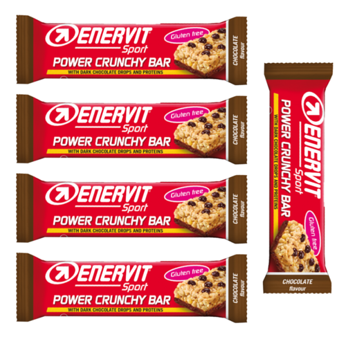 ENERVIT Sport Power Crunchy Bar Choco 5er Pack