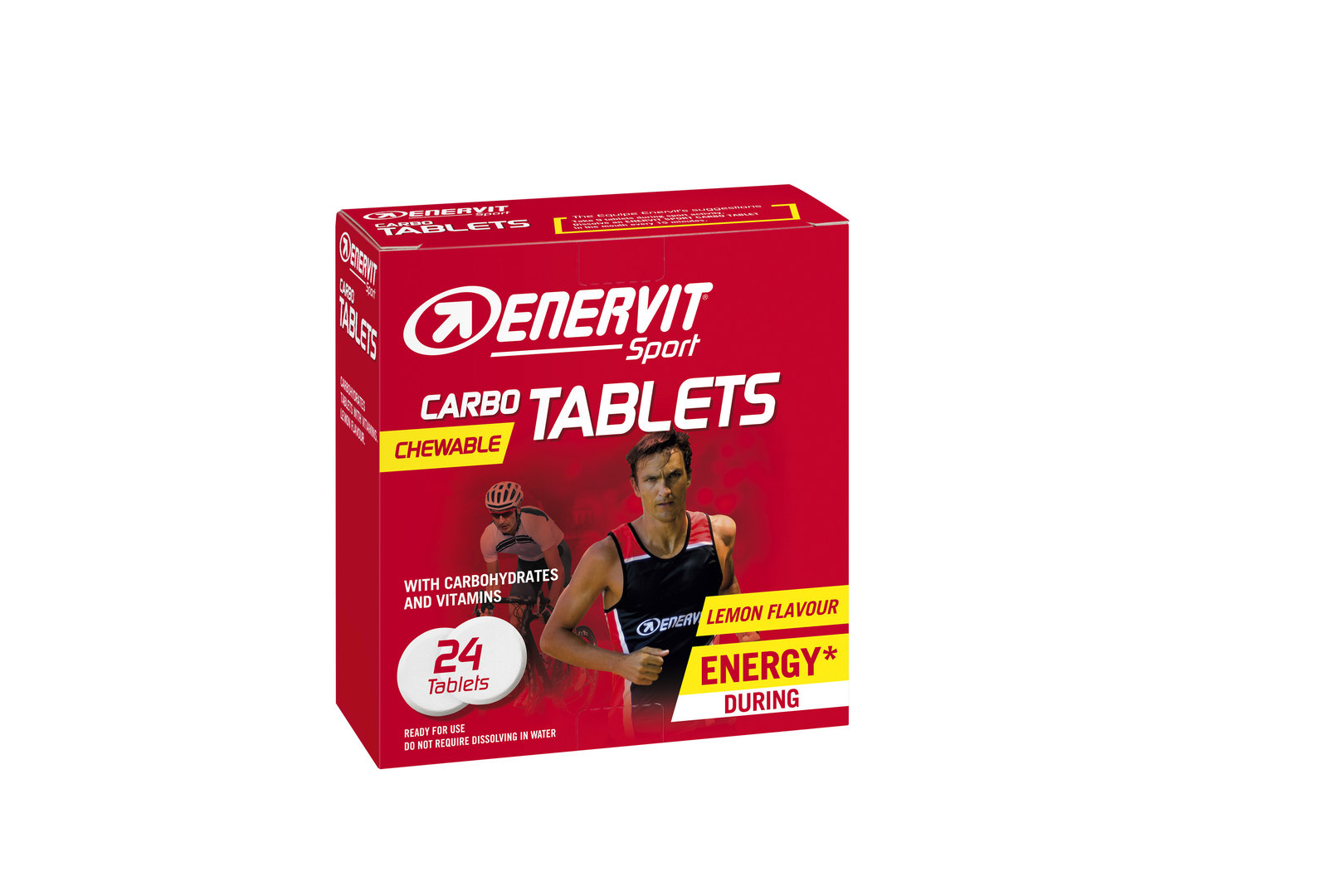 Enervit Carbo Tablets Kautabletten 24 Stk.