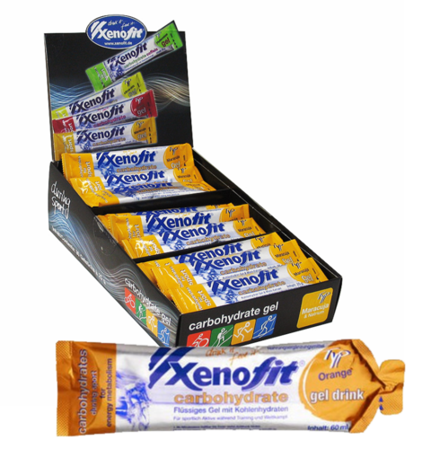 Xenofit Carbohydrate Gel Drink 21ér Box MHD 08.2019