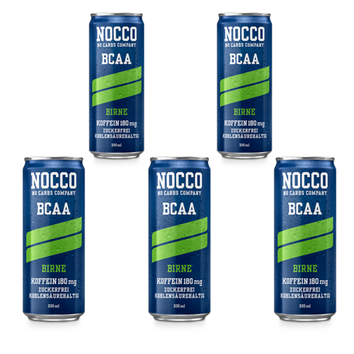 Nocco BCAA 330ml Dose 5er Pack
