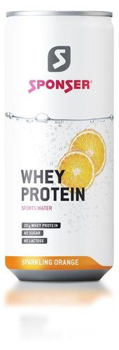 Sponser Whey Protein Sparkling Orange 330 ml Dose
