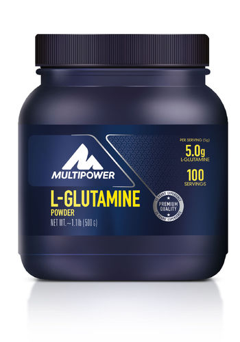 Multipower L-Glutamin Pulver 500g
