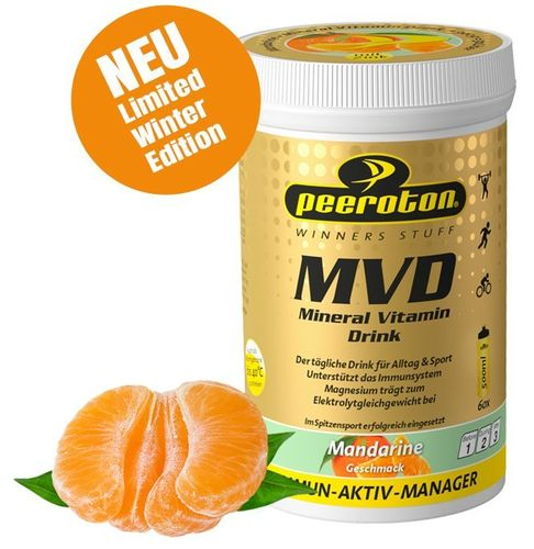 Peeroton Mineral Vitamin Drink 300g Limited Winter Edition Mandarine