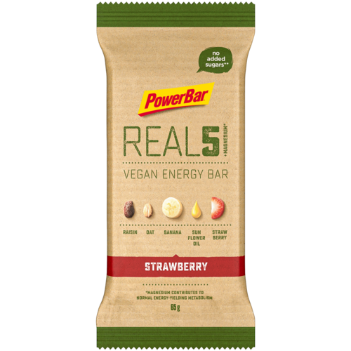 Powerbar REAL5 Vegan Energy Bar Riegel