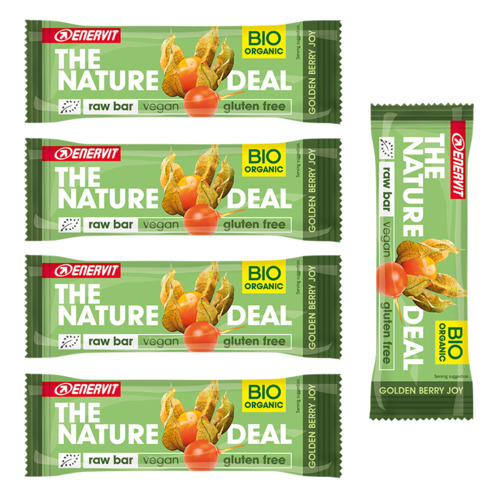 Enervit The Nature Deal Rawbar Vegan Riegel 5er Pack