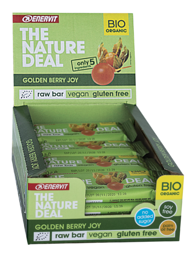 Enervit The Nature Deal Rawbar Vegan Riegel 20er Box