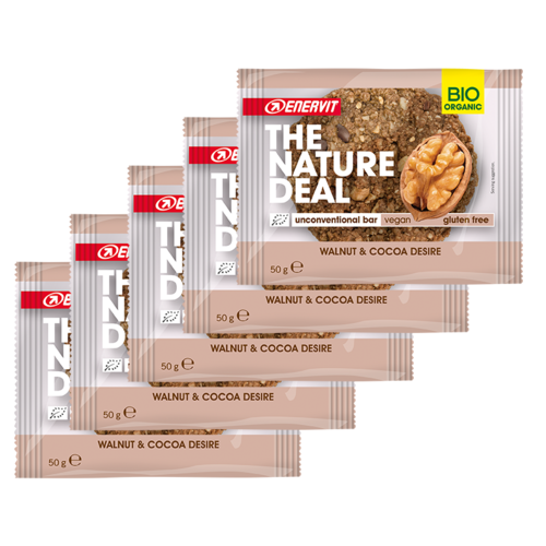 Enervit The Nature Deal UncBar Vegan Cookie 5er Pack