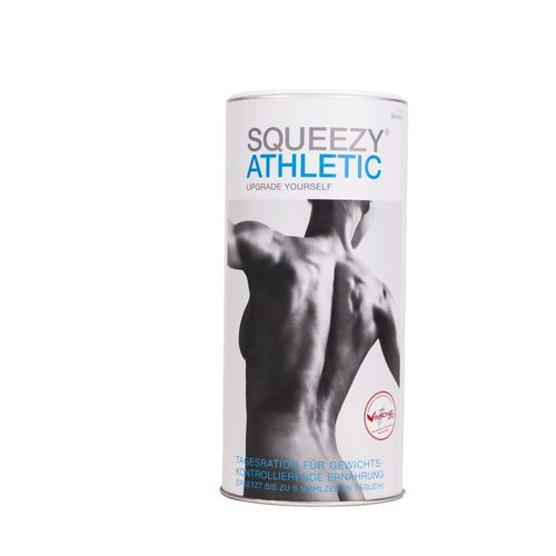 Squeezy Athletic Food Mahlzeitenersatz 675g Dose