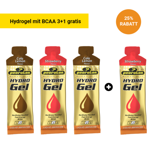 Peeroton Hydrogel mit BCAA Liquid Manager 3+1 Aktion