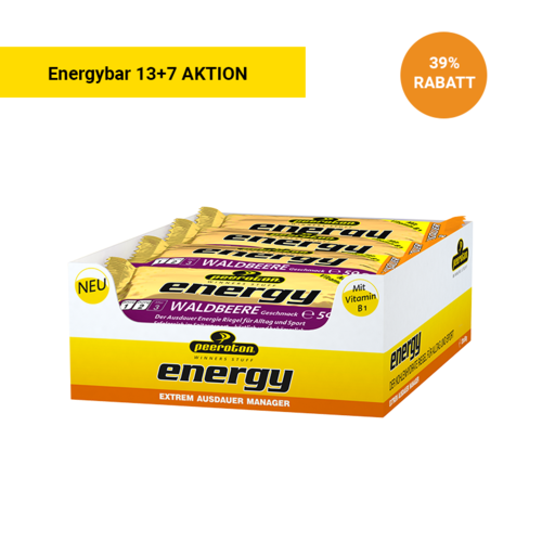 Peeroton Energy Bar Riegel 13+7 Aktion