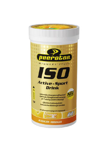 Peeroton ISO Active - Sport Drink 300g Dose MHD 11.2020