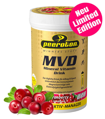 Peeroton MVD 300g Limited Edition 2021 Cranberry