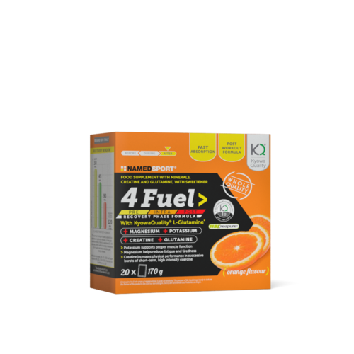 NAMEDSPORT 4 Fuel Active 20iger Portionsbeutelbox